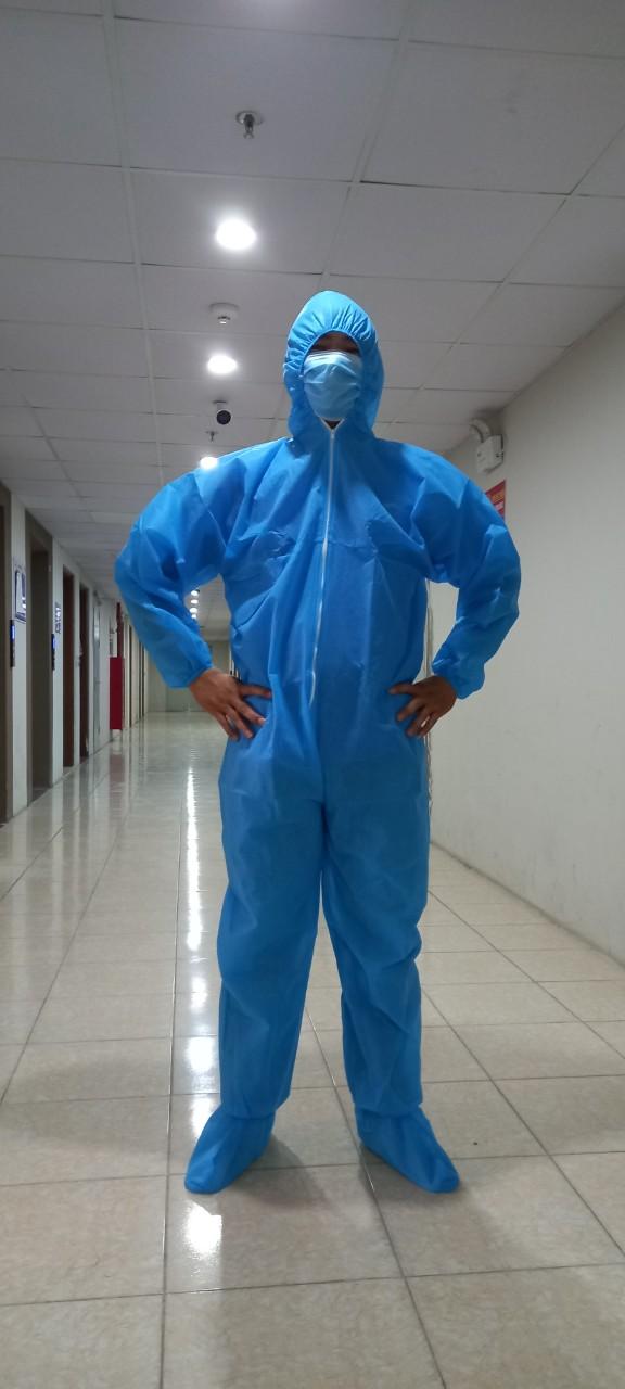 bộ đồ bảo hộ y tế chống dịch